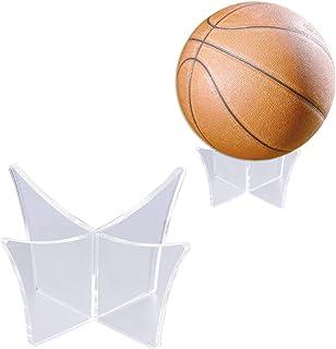 comprar comparacion Vosarea Soporte de exhibición de Bola Soporte de exhibición Soporte de exhibición Transparente Base de Soporte para fútbol...