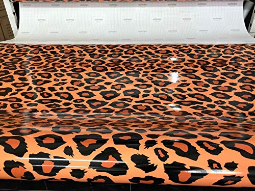 LEON-FOLIEN Tigerfell Tigerhaut Camouflage Folie 150x50 Military Militär Braun Tiger Löwe Jaguar Leopard Tarnfolie Stickerbomb Autofolie Sticker Auto Car Bike Motorrad (30,00 EUR pro m²)