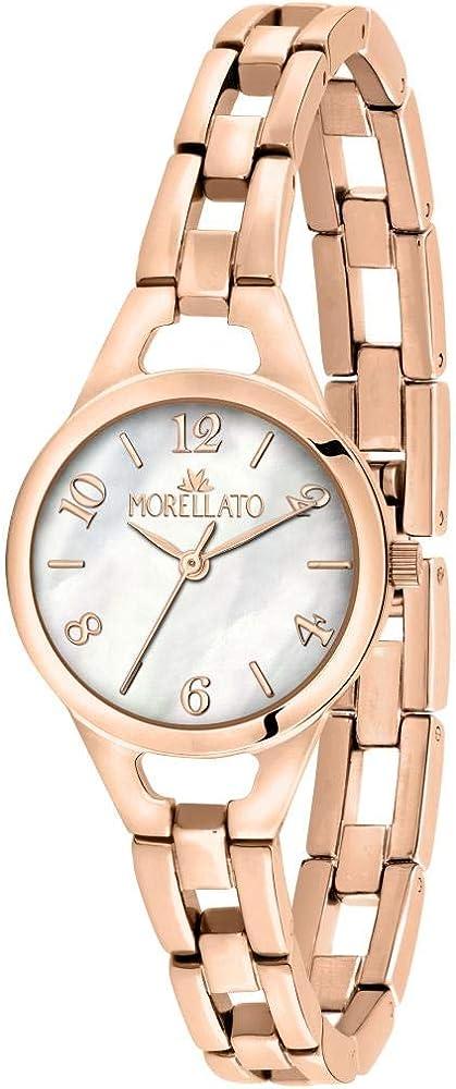 Morellato ,orologio analogico al quarzo per donna  e pvd oro rosa R0153155501
