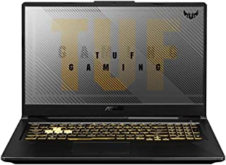 ASUS TUF Gaming A17 FA706II-H7024T Gaming Laptop (Fortress Gray)- AMD Ryzen 7 4800H Processor 2.9 GHz , 16GB RAM, 512GB SS...