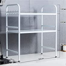 Kitchen Shelf - Oven Stand/Microwave Oven Rack/Storage Shelf/Spice Rack - Single Layer/Double Layer for Kitchen, Storage