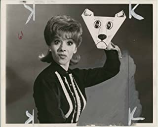 Puppeteer Shari Lewis with her Halloween Mask (8