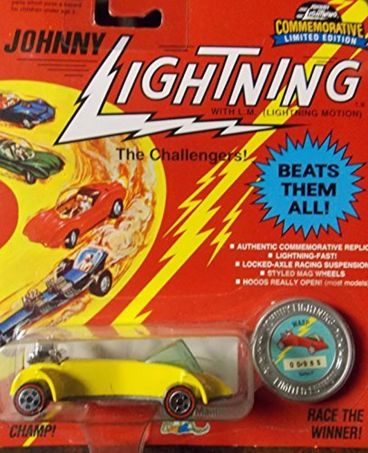 Johnny Lightning The Challengers Limited Edition Classic WASP by Johnny Lightning