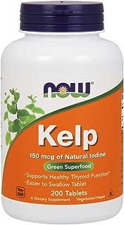 NOW Foods NOW Foods Kelp 150mcg Iodine Tabs. 200's