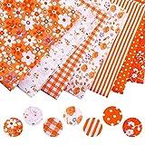 Baumwollstoff 7 Stk. Baumwolltuch Textil Handwerk