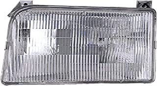 For Ford F150|F250|F350|Bronco Headlight 1992 1993 1994 1995 1996 1997 1998 Driver Left Side Headlamp Assembly Replacement
