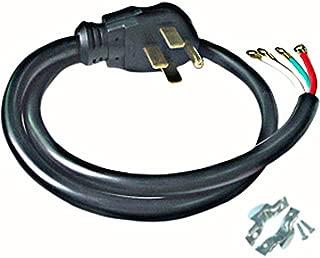 Conntek RL-40401 4-Feet 40-Amp with Wire Range Power Cord