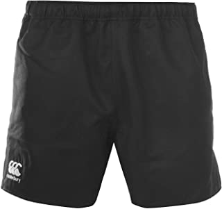 Canterbury CCC Professional Rugby Shorts Mens Black Bottoms Fitness Sportswear