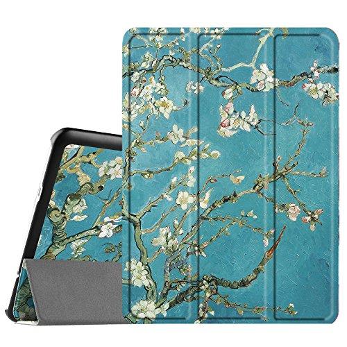 FINTIE Custodia per Samsung Galaxy Tab S2 9.7 - Ultra Sottile di Peso Leggero Tri-Fold Case Cover con Funzione Sleep Wake per Samsung Galaxy Tab S2 9.7  T810N   T815N   T813N   T819N, Blossom
