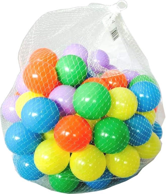 salida Fun House Estilo Ropa de de de cama, bolas de plástico para pozos bolígrafo piscina Multi Colors juguete suave viene en un conjunto de 100, 200, 300, 400, 500, 600, 700, 800, 900, 1000.  exclusivo