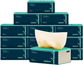 Papel higiénico 10 Paquetes por Caja - 3 Capas por Hoja, 300 Hojas por Paquete de Tejido Facial de Pulpa de bambú Nativo ZHANGGUOHUA (Color : Natural, Size : 10 Packs)