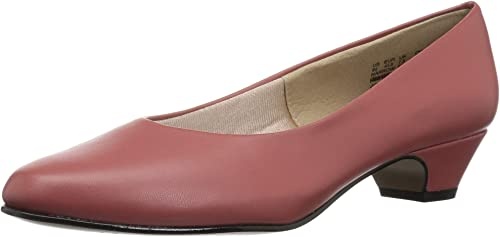 Soft Style by Hush Puppies Wohommes Angel II Pump, Marsala Enfant, 8 Extra Wide US