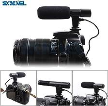 ميكروفون جديد - ميكروفون كاميرا مكثف لمسدس كانون EOS M2 M3 M5 M6 800D 750D 77D 80D 5Ds R 7D 6D 5D Mark IV