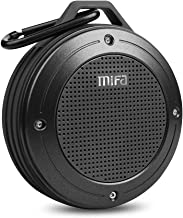 Bluetooth Speaker, MIFA F10 Portable Speaker with Enhanced 3D Stereo Bass Sound, IP56..