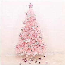 Christmas Décor Artificial Christmas Tree Pink Cherry Tree Christmas Tree PVC Flame Retardant Material Reinforcement Metal...