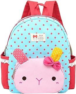 Trada Baby Backpack, Kinder Baby Mädchen Jungen Kinder Cartoon Kaninchen Tier Rucksack Kleinkind Schultasche Babyrucksack ...