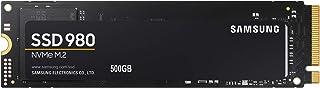 日本サムスン 980 500GB PCIe Gen 3.0 ×4 NVMe M.2 (2280) 最大 3,100MB/秒 内蔵 SSD MZ-V8V500B/EC 国内正規保証品