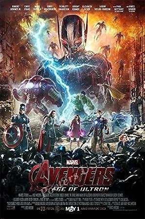 "Iron Man Captain America Hulk Movie 24/""x36/"" Poster 145 Age of Ultron"