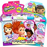 Fancy Nancy Magic Ink Coloring Book Set -- 3 Disney Junior Imagine Ink Books for Kids Toddlers Featuring Fancy Nancy, Sofia The First, Doc McStuffins with Invisible Ink Pens and 600 Stickers