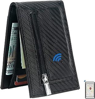 $28 » Smart Bluetooth GPS Location Record Mens Wallet Finder Money Clip Wallets Tracker (Black-2)
