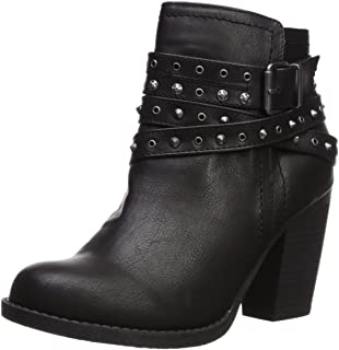 Women's Sugar Poppies Studded Multi Strap Fashion Boot