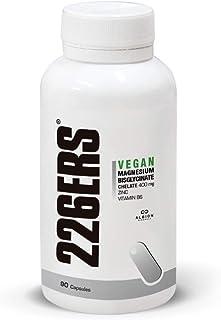 226ERS Vegan Magnesium - Magnesio Quelado. Zinc y Vitamina B6-90 cápsulas