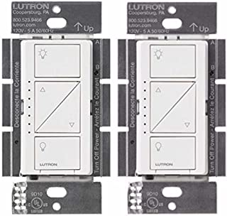 Lutron PD-10NXD-WH Caseta Pro In Wall Dimmer 250W LED (2 Pack)