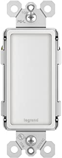 Legrand - Pass & Seymour Radiant NTLFULLWCC6 Full-Size LED Night Light with One-Touch Adjustable Light Levels, White