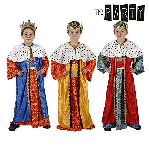 Atosa-32134 Atosa-32134-Disfraz Rey Mago niño Infantil-Talla Color Surtido-Navidad, Multicolor, 10 a 12 años...