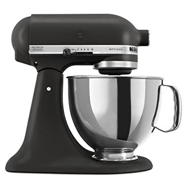 KitchenAid Artisan Series 5-Qt. Stand Mixer with Pouring Shield - Imperial Black