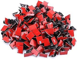 Pinzas adhesivas para cables de coche, para colgar en la pared, para organizar cables desordenados en casa, oficina, festival, adornos