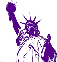 Purple Liberty by Veruca Salt Art Print, 52 x 52 inches