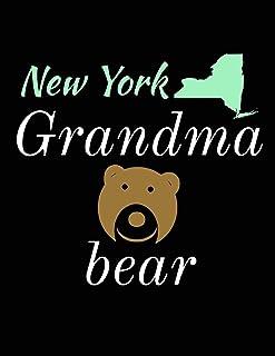 New York Grandma Bear: Bear Journal Notebook to Write in