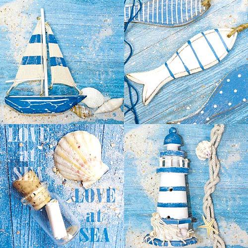 Serviette « Love at Sea » 5 pc.