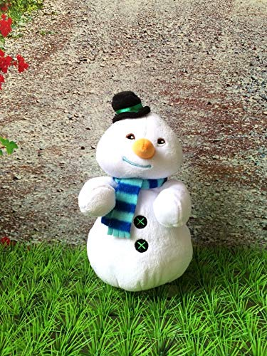 tianluo Stofftier Doc McStuffins Bohnen Chilly Plüschtiere Mini Chilly Die Schneemann Plüschpuppe 18cm