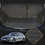 OREALTECH Kofferraummatte Auto für A4 8W2 B9 8WH 8W5 2017 2018 2019 Allwetter XPE Leder Kofferraumwanne 3D All-Inclusive-Stil Schmutzfangmatte