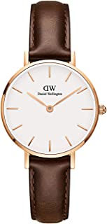 Daniel Wellington Women's Analogue Quartz Watch with Leather Strap DW00100227