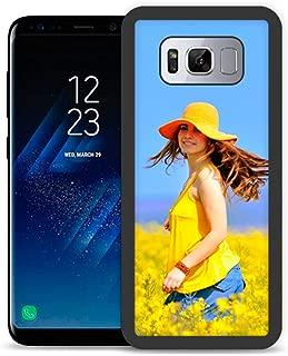 Fundas de móvil Samsung S8 Personalizadas con Fotos y Texto | Fundas Negras con los Laterales Flexibles para el Samsung Galaxy S8