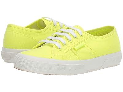 Superga 2750 COTU Classic Sneaker (Yellow Neon) Women
