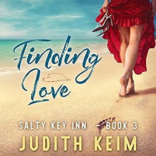 Finding Love     A Salty Key Inn Book, Book 3              Written by:                                                                                                                                 Judith Keim                               Narrated by:                                                                                                                                 Angela Dawe                      Length: 7 hrs and 55 mins     1 rating     Overall 5.0