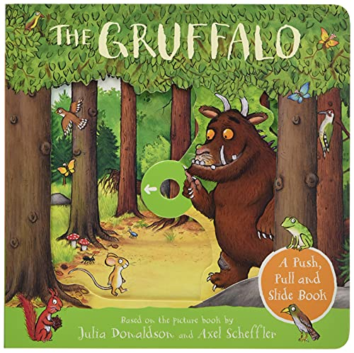 The gruffalo: a push, pull and slide book
