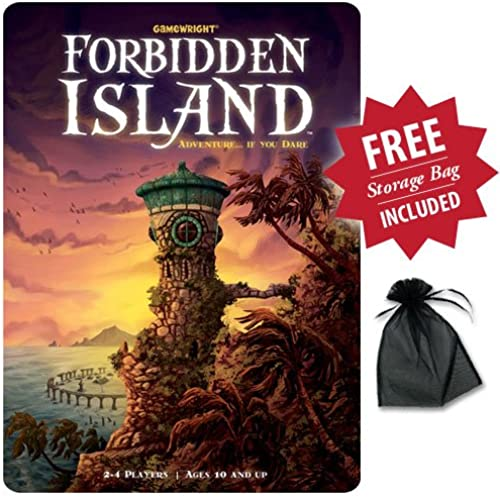 Forbidden Island With Free Storage Bag by Gamewright