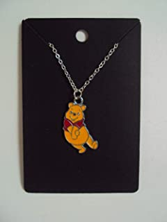 Disney's Winnie The Pooh Pendant & Necklace INCLUDES Gift Box