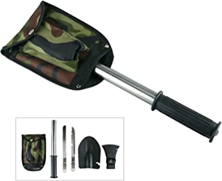 WWX HOT Survival Emergency Camping Hiking Knife Shovel Axe Saw Gear Kit Tools-BSA US