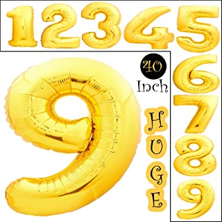 Best mini foil number balloons Reviews