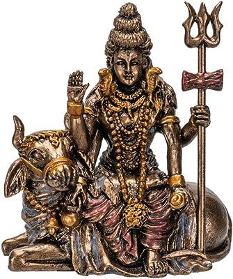 Pacific Giftware Hindu God Lord Shiva Miniature Statue Resin Figurine