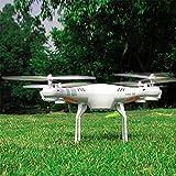 Cewaal SH5W Wireless 2,4GHz Drohne Fernbedienung Flugzeug Hubschrauber Quadcopter Headless-Modus LED-Licht für Anfänger Kinder Erwachsene Weiß