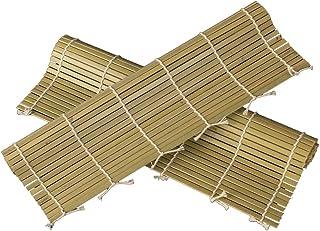 BESTONZON Esterilla de bambú para preparar sushi japonés molde alfombrilla
