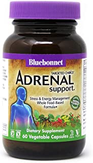 Bluebonnet Nutrition Targeted Choice Adrenal Support, 60 Count
