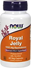 NOW Foods NOW Foods Royal Jelly 1500mg Caps. 60's Freeze Dried